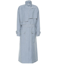 Warrick linen, wool and silk coat