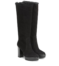 Olen suede knee-high boots
