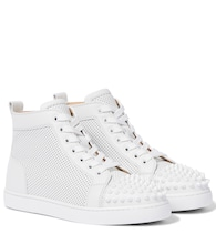Lou Spikes leather sneakers