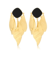 Indra 14kt gold-plated earrings