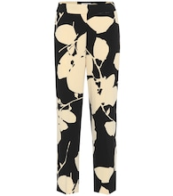 Elodia floral cady straight pants