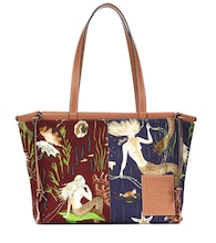 Paula's Ibiza Cushion Medium printed shopper