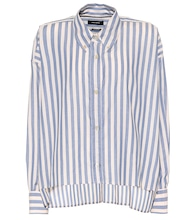 Macao striped cotton shirt