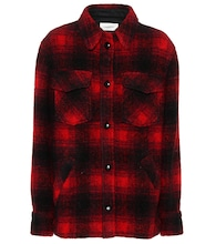 Gast plaid jacket