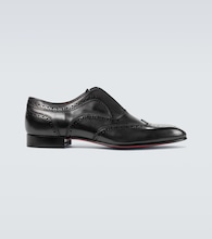 Platerboy flat Derby shoes