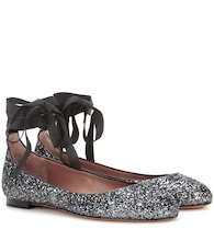 Daria patent leather ballerinas