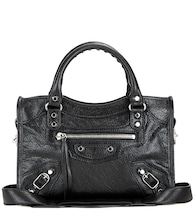 Classic Mini City leather shoulder bag