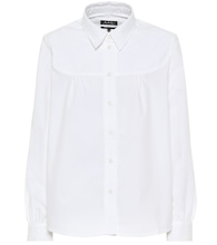 Pascale cotton poplin shirt