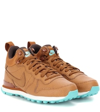 Internationalist Mid leather sneakers