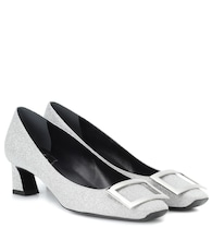 Exclusive to mytheresa.com – Belle Vivier Trompette leather pumps