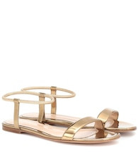 Jaime 05 metallic leather sandals
