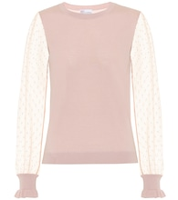 REDValentino wool and silk sweater