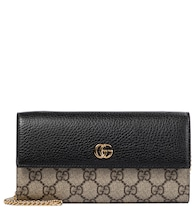 GG Marmont leather clutch