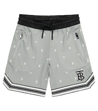 Logo technical-jersey shorts