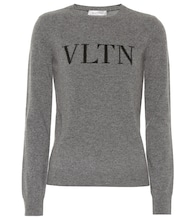 VLTN wool and cashmere sweater