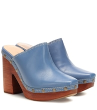 Les Sabots leather mules