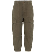 Greta cotton and linen cargo pants