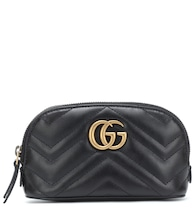 GG Marmont Small leather cosmetics case