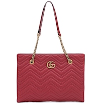 GG Marmont Medium matelassé leather tote