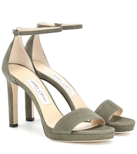 Misty 100 suede sandals