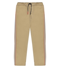 Cotton-twill pants