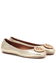 Ballerines Minnie Travel en cuir