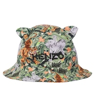 Baby printed bucket hat