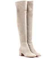 Exclusive to mytheresa.com – Rolling Mid suede over-the-knee boots