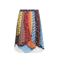 King graphic skirt