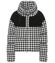 Nil houndstooth down jacket