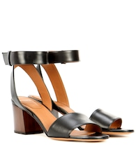 Paris leather sandals