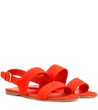 Loa suede sandals