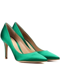 Escarpins en satin Gianvito Rossi 85