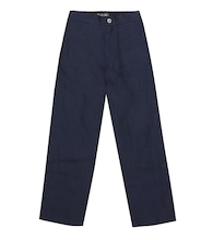 Marc linen straight pants