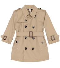 Baby Cotton trench coat