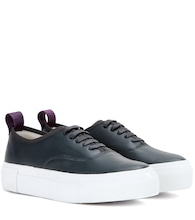 Mother leather sneakers