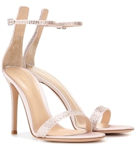 Portofino embellished satin sandals
