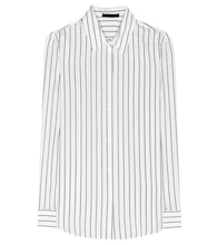 Peter striped silk shirt