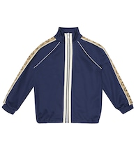 GG cotton-blend track jacket