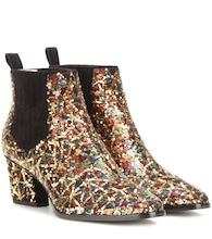 Bottines à sequins Sky Scraper