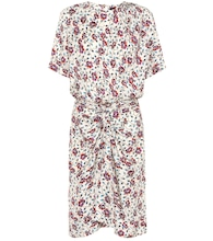 Rehora printed silk dress