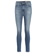 The Mila Ankle high-rise skinny jeans