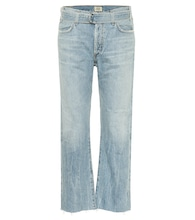 Emery high-rise cropped jeans