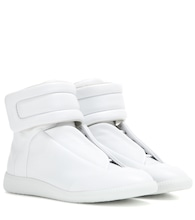 Future high-top leather sneakers
