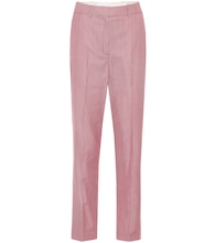 Michael wool-blend straight pants