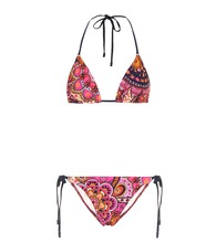 Fiesta Mini paisley triangle bikini