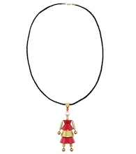 mytheresa.com exclusive puppet necklace by Ugo Correani for Karl Lagerfeld