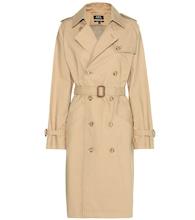 Julianne cotton trenchcoat