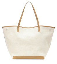 Park XL canvas and leather tote