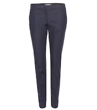 Bold Silhouette cotton trousers